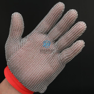 Stainless Steel Metal Mesh Work Chainmail Glove for Cut Resistant