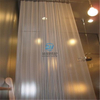 Stainless Steel Ring Mesh Curtains size and shape can be offered as wish