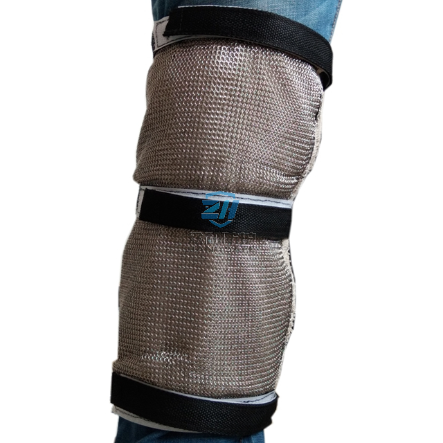 Metal Cut Resistant Warm Level 5 Chainmail Knee Pad